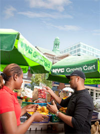 NYC Green Cart at Montefiore