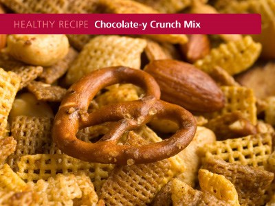 Chocolate-y Crunch Mix