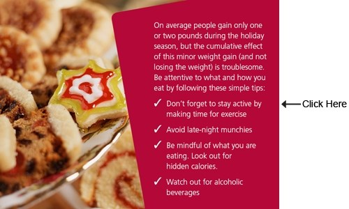 Holiday Eating Tips