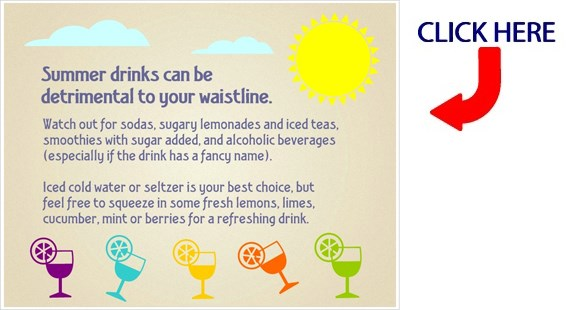 Summer Drinks Nutrition Tip