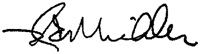 signature of Dr. Robert Michler