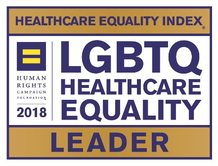 Recognized as a Leader in LGBTQ Health Equality