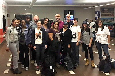 The Team Of Montefiore Doctors Nurses And Other Healthcare Providers Who Volunteered To Join Medical Teams From Across State Ist After Hurricane