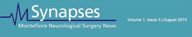 Synapses | Montefiore Neurological Surgery News August 2015
