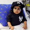 Baby Jeter after heart surgery at Montefiore