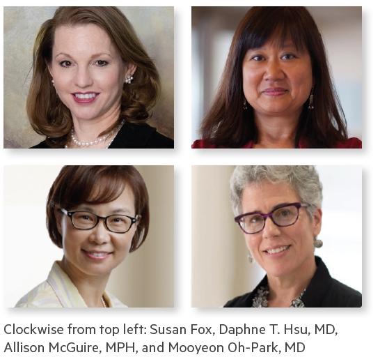 MONTEFIORE'S NOTABLE WOMEN IN HEALTHCARE