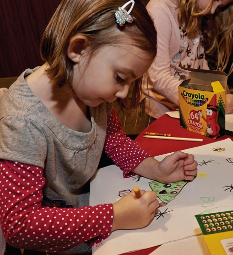 Creative inspiration and holiday spirit were in abundance at Children s  Hospital at Montefiore (CHAM) and Z100 s Color Your Way to a Cure event  this year 0ad67a219