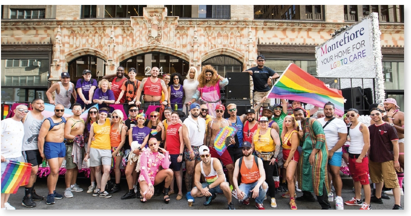 Montefiore marched on World Pride Day