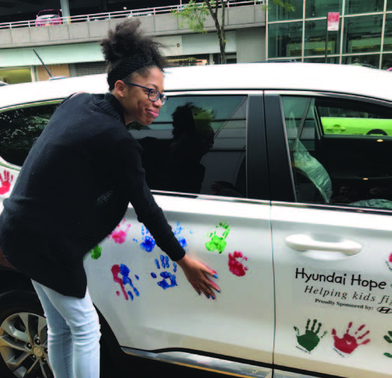 HYUNDAI HOPE ON WHEELS GIVES CHAM A HAND