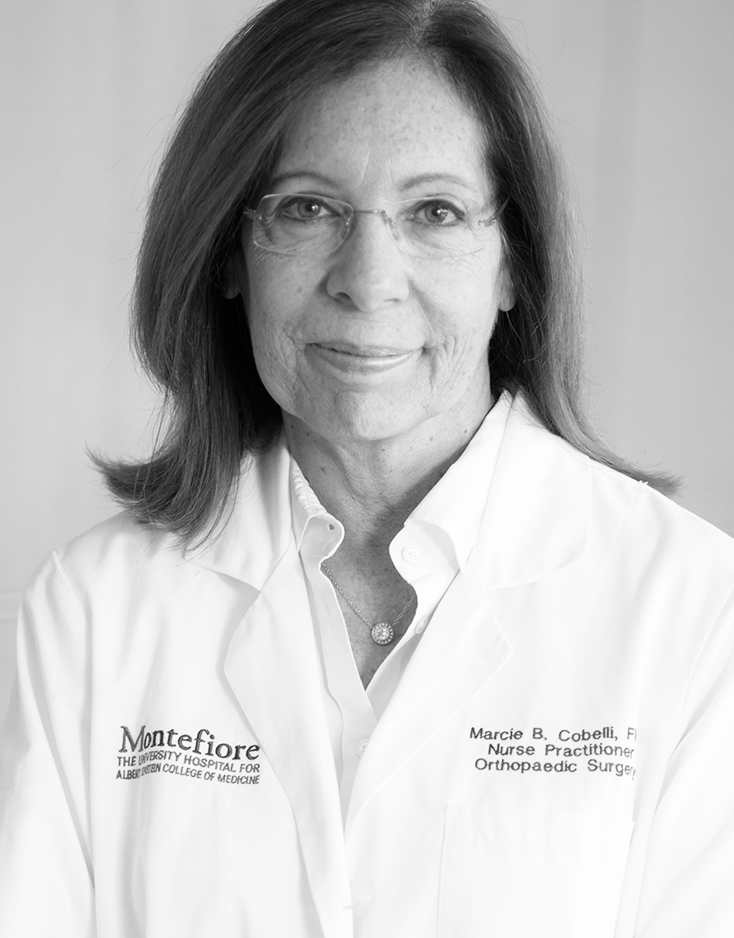Marcie B. Cobelli, NP - Director of Education, Center for Joint Replacement Surgery