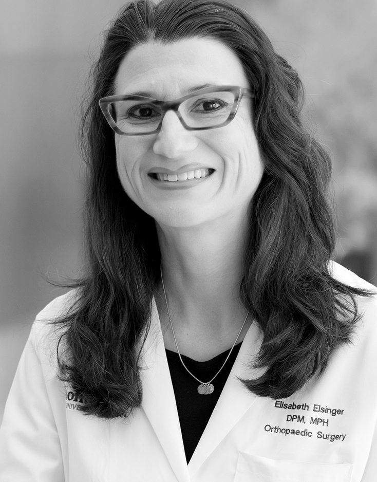 Elisabeth C. Elsinger, DPM - Attending Physician, Podiatric Surgery and Medicine, Assistant Professor, Orthopedic Surgery - Podiatry